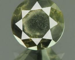 IGR Certified Natural Dark Gray Diamond I3 - 0.87 ct