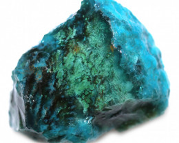 100.00 CTS CHRYSOCOLLA  WITH GEM SILICA - BRAZIL [F8766]