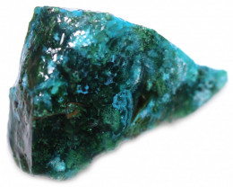 95.00 CTS CHRYSOCOLLA  WITH GEM SILICA - BRAZIL [F8773]