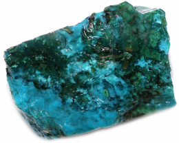 210.00 CTS CHRYSOCOLLA  WITH GEM SILICA - BRAZIL [F8775]