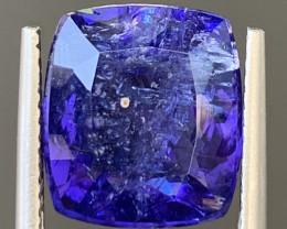 AAA Color 8.10 Carats Tanzanite Gemstone