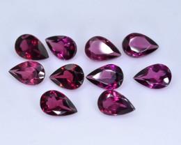 4.50 Crt Natural Rhodolite Garnet Lot Faceted Gemstone.( AB 45)