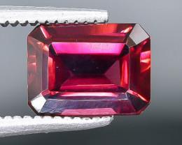 2.15 Crt Natural Rhodolite Garnet Faceted Gemstone.( AB 45)
