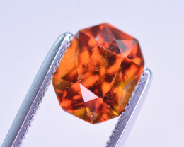 Superb Color 2.30 Ct Natural Hessonite Garnet. RA