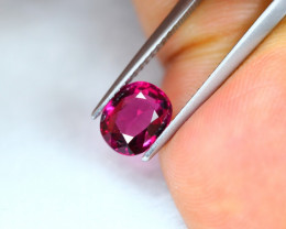 1.86Ct Natural Rhodolite Garnet Oval Cut Lot LZ7005