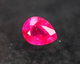 2.61ct Ruby Pear Cut Lot GW5841
