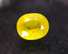 10.19ct Yellow Sapphire Oval Cut Lot GW8330