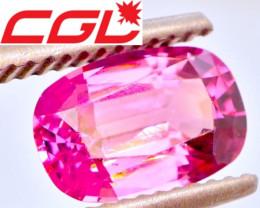 VIVID! VVS! PRECISION CUT! 1.74 CT Pink Spinel (Burma) | FREE SHIPPING!