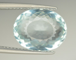 Amazing Color 5.05 Ct Natural Aquamarine