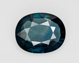 Blue Sapphire, 6.13ct - Mined in Madagascar | Certified by GRS
