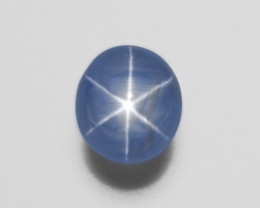Blue Star Sapphire, 13.10ct - Mined in Sri Lanka | Certified by AIGS