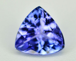 AAA Grade 0.95 ct Tanzanite eye catching Color