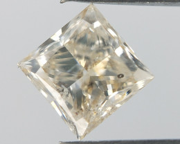 Loose colour diamond,champagne diamond gemstone 0.50 cts