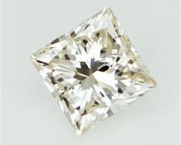 0.51 cts , Natural  Princess Diamond