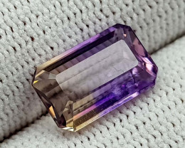 3.65CT BOLIVIAN AMETRINE BEST QUALITY GEMSTONE IIGC11
