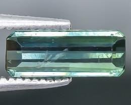 0.86 Crt Tourmaline Faceted Gemstone (Rk-17)