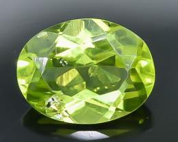 1.94 Crt Peridot Faceted Gemstone (Rk-17)