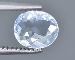 0.65 Crt Aquamarine Faceted Gemstone (Rk-17)