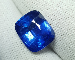 8.33 CTS NATURAL STUNNING CUSHION CUT CORNFLOWER BLUE SAPPHIRE SRI LANKA