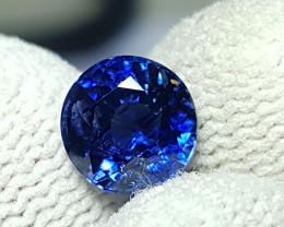 NO HEAT 2.09 CTS CERTIFIED NATURAL STUNNING ROUND MIX CORNFLOWER BLUE SAPPH