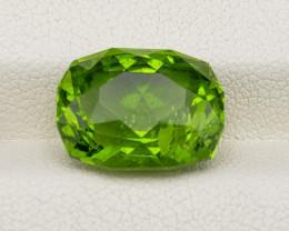 Peridot cut 9.80 carats