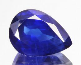 Certified 1.88 Cts Natural Corundum Sapphire Nice Blue SriLanka Gem
