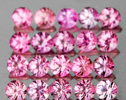 1.80 mm Round 35 pcs Pink Sapphire [VVS-VS]