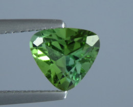1.21 ct Natural Beautiful Heart Shape Green Colour Tourmaline From Afghanis