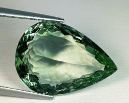 15.97 ct Top Quality Fantastic Pear Cut Natural Green Amethyst