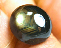 18.42 Ct Thailand Fancy Black Star Sapphire - Gorgeous