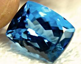 22.37 Carat London Blue Brazil Topaz - Gorgeous