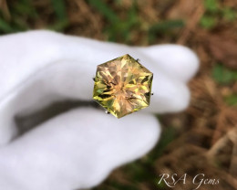 Hexagonal Tourmaline - 5,49 carats