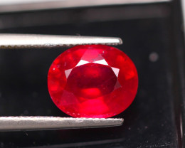 6.60ct Blood Red Color Ruby Oval Cut Lot GW5920