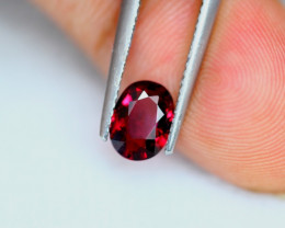 1.38Ct Natural Rhodolite Garnet Oval Cut Lot LZ6781