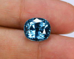 9.98ct Lab Certified Blue Zircon