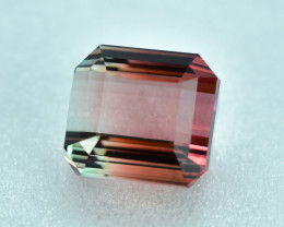 8.03 Cts Stunning Lustrous Natural Bi-Color Tourmaline
