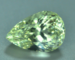 Top Grade & Cut 15.00  ct Green Spodumene