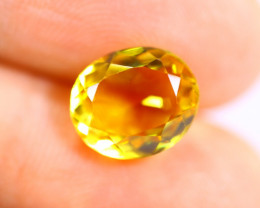 3.63cts Natural Orangeish Yellow Colour Citrine / RD986