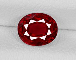 Ruby, 1.07ct - Mined in Burma | Certified by GRS