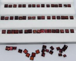 28.80 Carats Rhodolite Garnet  Gemstones Parcel