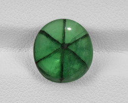 Trapiche Emerald, 3.69ct - Mined in Colombia | Certified by GIA