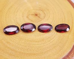 Natural Rhodolite Garnet Gemstones