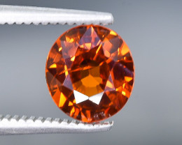 1.67 Crt Spessartite Garnet Faceted Gemstone (Rk-18)