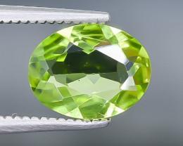 1.61 Crt Peridot Faceted Gemstone (Rk-18)