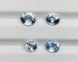 6.80 Carats Aquamarine Gemstones Parcel
