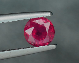 .69CT INTENSE SCARLET RED COMPOSITE RUBY (FF) $1NR!