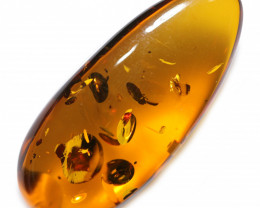 17 Cts  Honey  Yellow Amber Gemstones    AM 1679
