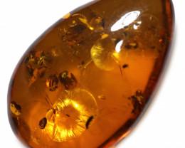 21 Cts  Honey  Yellow Amber Gemstones    AM 1683