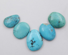 30cts Lucky Turquoise ,Handmade Gemstone ,Turquoise Cabochons F721