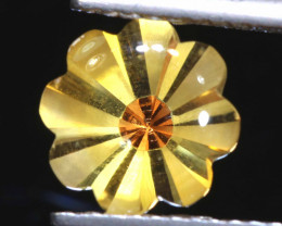 1.7 CTS -CITRINE FLOWER CARVING    LG-10